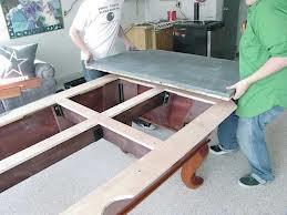 Pool table moves in Oklahoma City Oklahoma