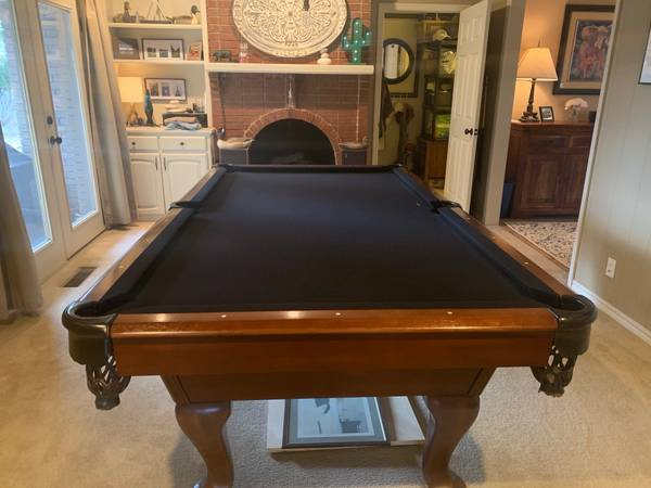 Solo 174 Tulsa Regulation 8 Foot Billiard Table 61