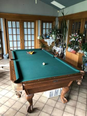Solo 174 Tulsa Kasson Pool Table 60