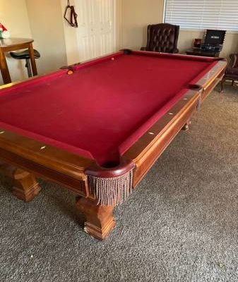 9ft Brunswick Billiard Table (SOLD)