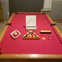 Pool Table and Ping Pong Table Topper