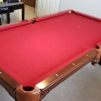 8' Pool Table AMF Highland Series Limited Edition