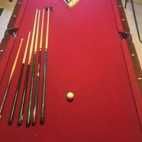 Cherry Wood Pool Table