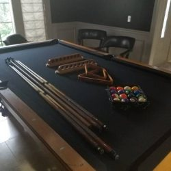 Golden West Pool Table and Accessories