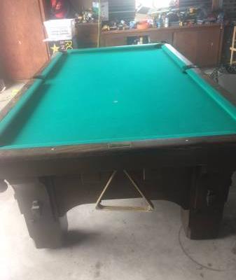 Heritage Series - 9ft Pool Table