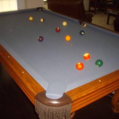 4 x 8 regulation size Pool Table