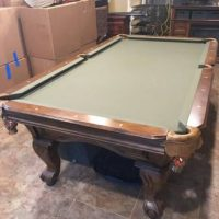 Amazing 8' Pool Table Set For Sale