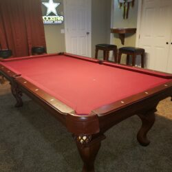 Beautiful 8ft Pool Table